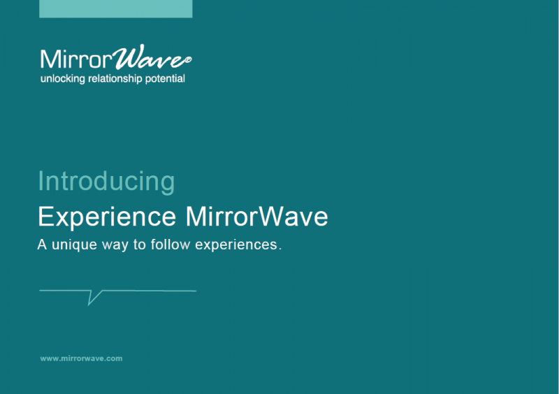 Whitepaper - Introducing Experience MirrorWave