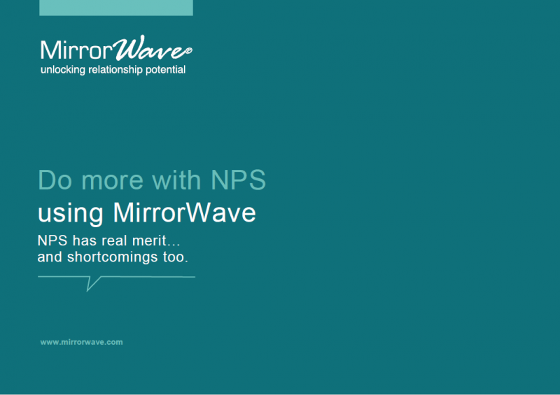 Do More With NPS Using MirrorWave