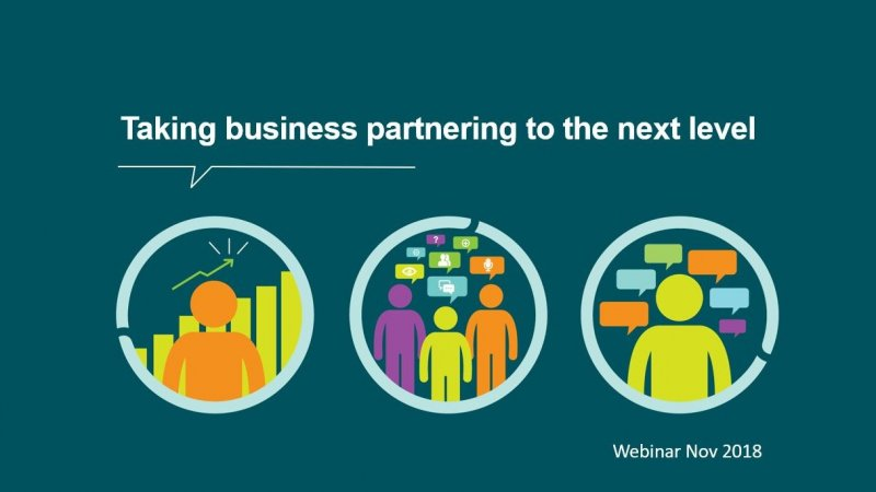 Webinar - Taking business partnering to the next level